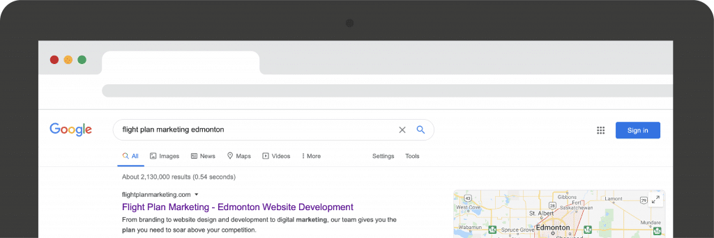 google brand results feature image